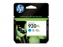 Hewlett Packard HP 920XL Cyan Officejet Ink Cartridge [CD972AE]